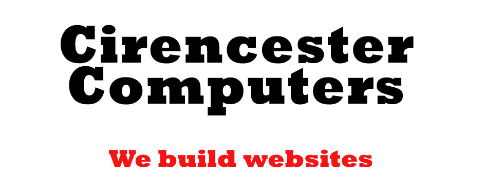 Website design from Cirencester Computers
